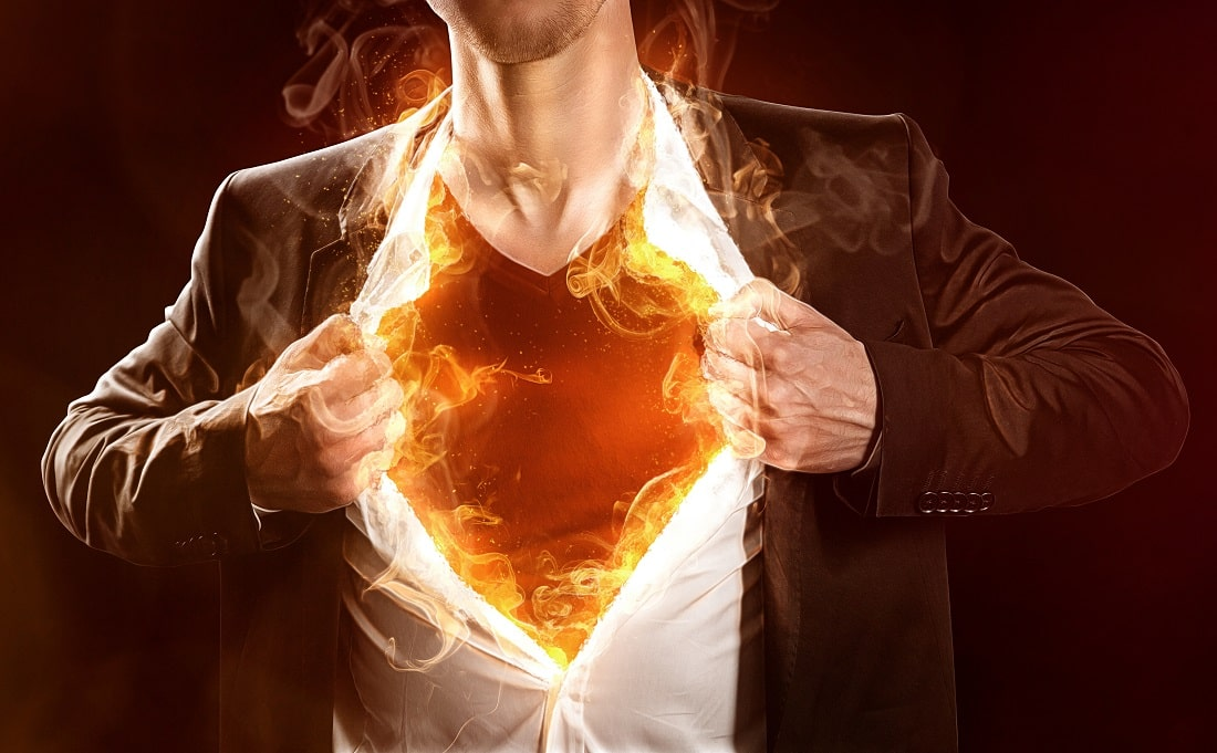 To be a hero (black jacket, white shirt with a flame chest protruding like superman) for your family fasting and prayer is a must.