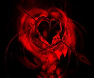mariage problems? Girlfriend Problems? Start Here! (red bleeding heart with arrow going through it