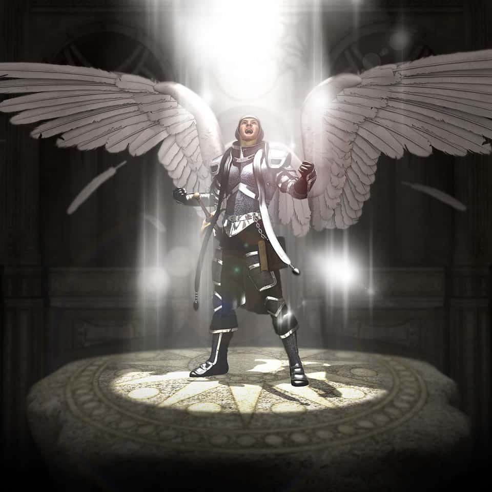 Christs leader for the battle against evil, Saint Michael The Archangel