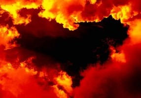 Does a happy marriage truly stem from an act of the will? Well, I say pose the question to the Father; who reins in Heaven with a gigantic heart made of reddish orange clouds.