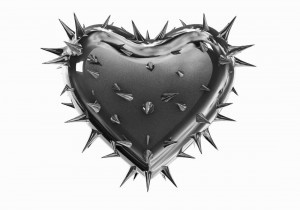 If you are in an unhappy marriage, the core problem is of course selfishness. Selfishness murders your marriage day by day unlike a large metal heart sporting large metal thorns.